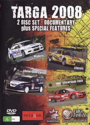 Targa Tasmania 2008: The Ultimate Tarmac Rally: Documentary (2 DVD Set)