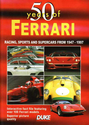50 Years of Ferrari DVD