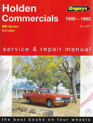 Holden Commercials WB Series 1980 - 1985 Workshop Manual