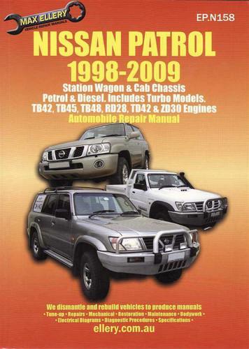 nissan patrol petrol  diesel  incl turbo models  1998