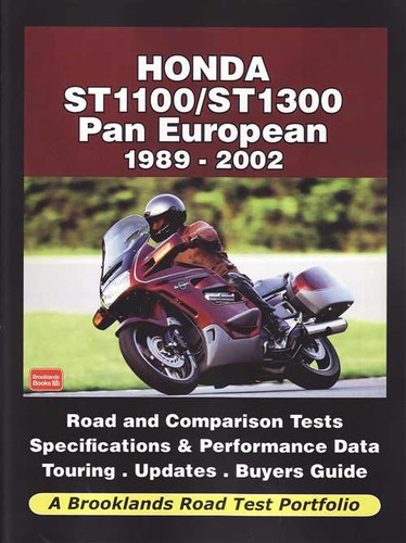 Honda ST1100 / ST1300 Pan European: A Brooklands Road Test Portfolio