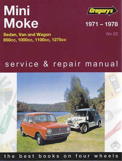 mini moke 850cc 1000cc 1100cc 1275cc 1971 1978. Black Bedroom Furniture Sets. Home Design Ideas