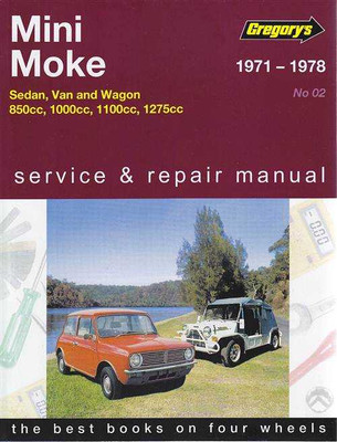 Mini Moke 850cc, 1000cc, 1100cc, 1275cc 1971 - 1978 Workshop Manual