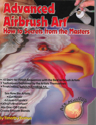 Advanced Airbrush Art How to Secrets from the Masters - front
