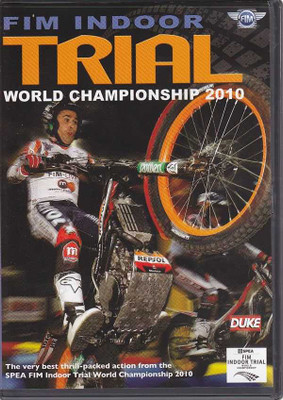 FIM Indoor Trial World Championship 2010 DVD