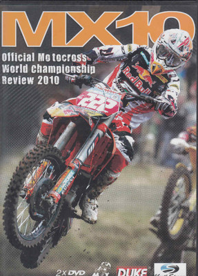 MX10 Official Motocross World Championship Review 2010 DVD  - front