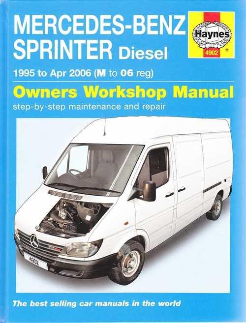 Mercedes benz sprinter workshop manual download for Mercedes benz workshop manuals