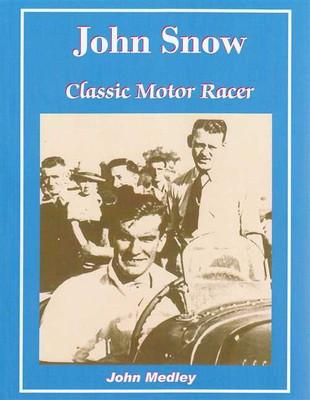 John Snow Classic Motor Racer (signed)