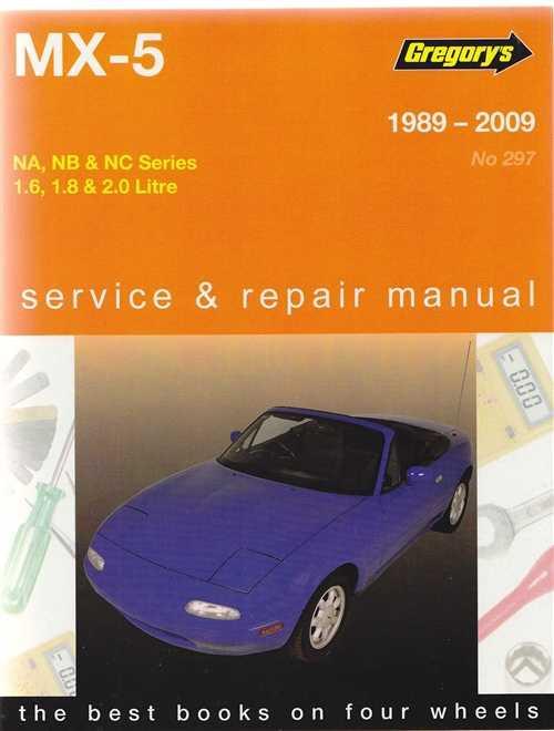 mazda mx 5 na nb nc series 1 6 1 8 2 0 l 1989 2009 workshop manual rh automotobookshop com au Mazda Mx5 Nc Mazda MX-5 ND