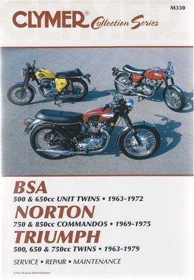BSA, Norton, Triumph 1963 - 1979 Workshop Manual