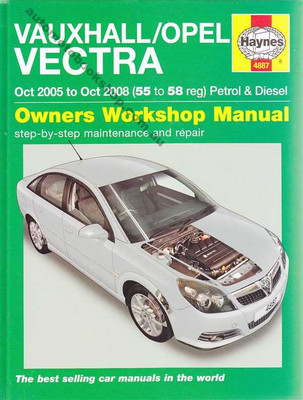 Vauxhall Vectra 2005 - 2008 Workshop Manual
