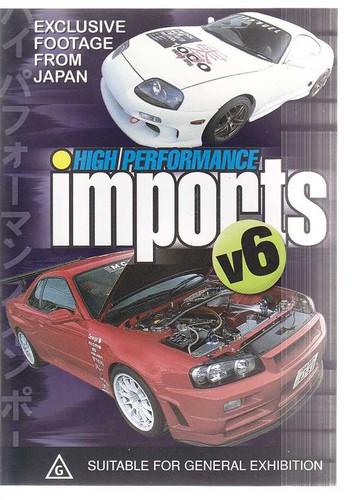 High Performance Imports V6 DVD