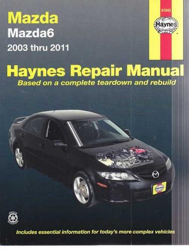 2005 mazda 6 workshop manual free owners manual u2022 rh infomanualguide today 2005 Mazda 5 2005 Mazda 6 Ignition Wires