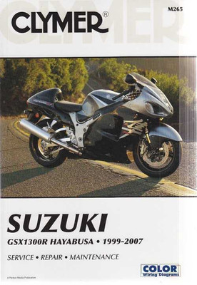 Clymer Suzuki GSX1300R Hayabusa 1999 - 2007 Workshop Manual