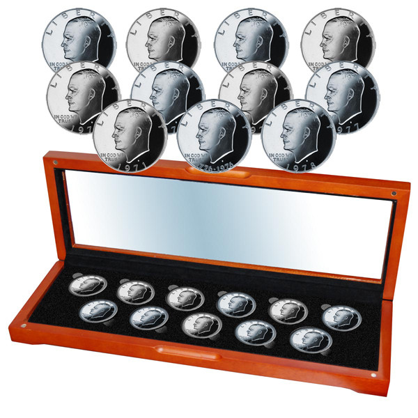Eisenhower Proof 11 Coin Set