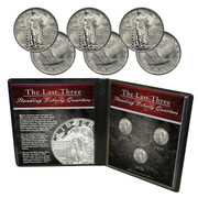 Last Three Standing Liberty Quarters