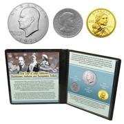 1st Ike, 1st Susan B. & 1st Sacagawea Dollars