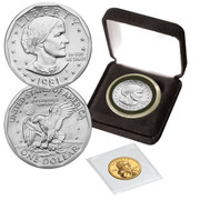 Never Released 1981 Susan B. with 1st Sacagawea