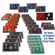 1971-2000 Original US Mint Proof Sets