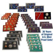 1971-2000 Original US Mint Proof Sets