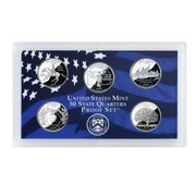 1999 U.S. Mint Proof Set of State Quarters
