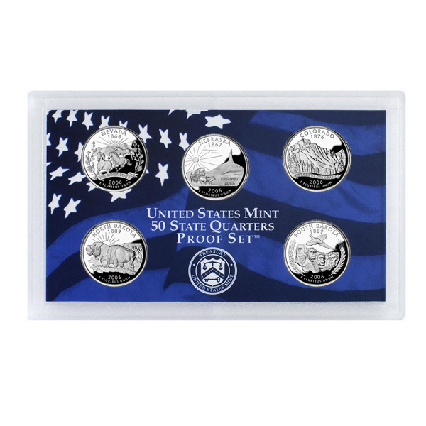 2006 U.S. Mint Proof Set of State Quarters