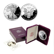 1986 Proof Silver Eagle in Original Govt. Packaging