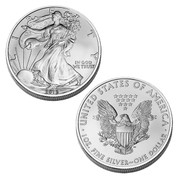 2013 Brilliant Uncirculated American Silver Eagle Dollar