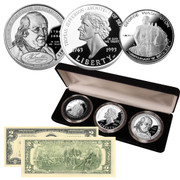 Independence Silver Proof Coin Collection