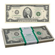 $2 Bills In Sealed Packs of 100