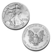 2012 Brilliant Uncirculated American Silver Eagle Dollar