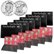 1973-1978 US Mint Proof Sets