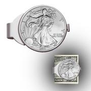 Silver Eagle Sterling Silver Money Clip