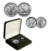 World War II Solid Silver Coin Set