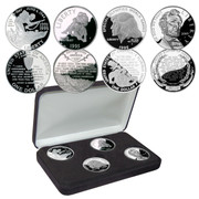 """Words Of Inspiration"" Silver Proof Dollar Set"