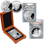 2014 PR70 Grade Inaugural Strike Proof Silver Eagle