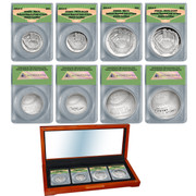 2014 Hall of Fame 4 Coin Set in Wood Box