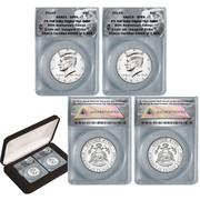 2014 JFK 50th Anniversary Mint Mark Set