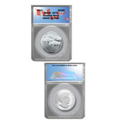 Canadian Bison $100 Wildlife Coin–SP70