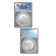 Canadian Bald Eagle $100 Wildlife Coin–SP70