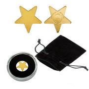 Golden Lucky Star Palau $1 Coin