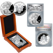 2015 PR70 Grade Inaugural Strike Proof Silver Eagle