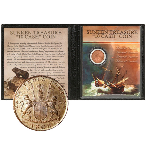 1808 Sunken Treasure Coin