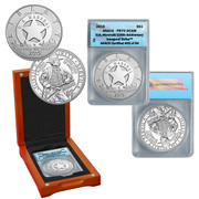 U.S. Marshals 225th   Anniversary Commemorative Silver Coin