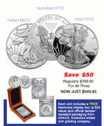 2015 Silver Eagle Collector's Set–SAVE $50