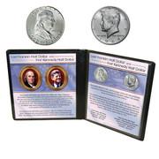 Last Franklin and First JFK Half Dollars
