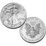 Brilliant Uncirculated 2009 American Eagle Silver Dollar