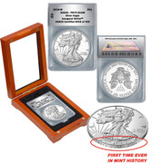 2016 PR70 Proof Silver Eagle 30th Anniversary Edition