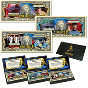 Star Trek 50th Anniversary $2 Bill Collection