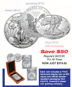2016 Silver Eagle Collector's Set–SAVE $50